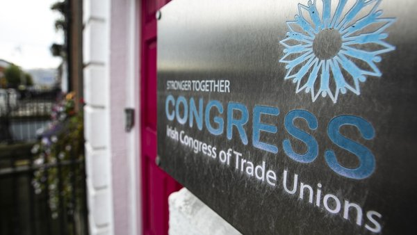 ICTU affiliated unions back deal