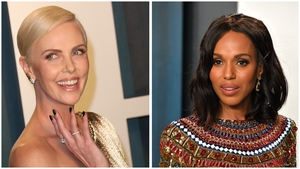 Charlize Theron and Kerry Washington are Belfast bound