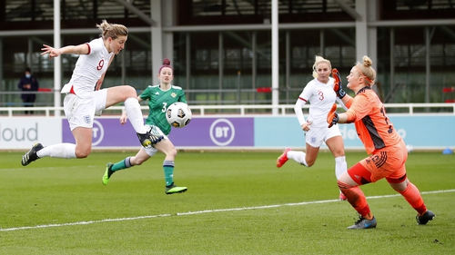 Ellen White bagged a hat-trick as England put six past the North