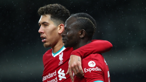 'He deserves more credit than me and Mo, for sure,' Mane says of his team-mate