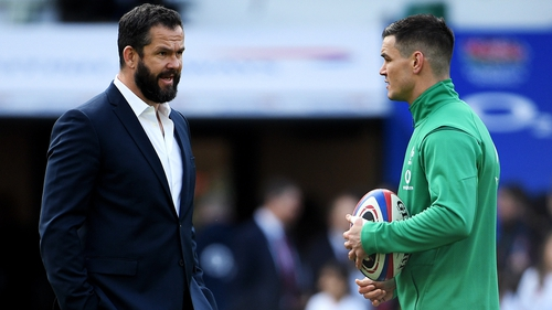 Will Andy Farrell make a decision on the number 10 jersey primarily based on the World Cup cycle?