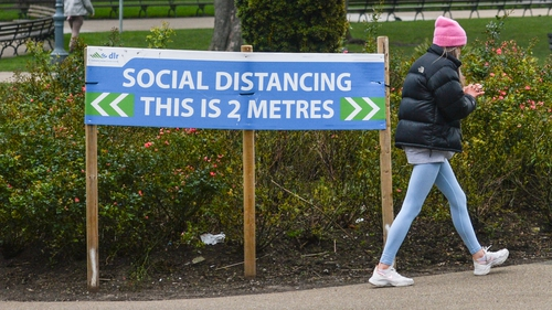 Leo Varadkar said a relaxation of the 5km rule is among the measure likely to be considered if cases of Covid-19 continue to fall