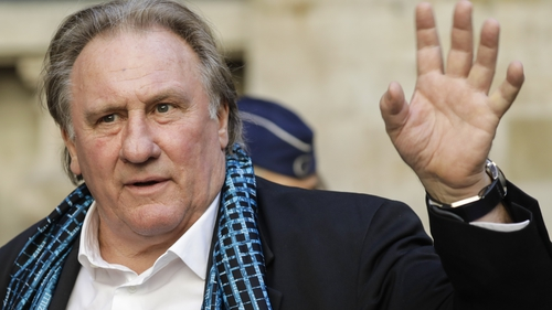 Gerard Depardieu denies assaulting and raping an actress in 2018