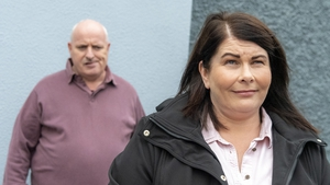 """Seosaimhín as Laoise in this week's Ros na Rún on TG4: """"We have Covid and lockdown to thank for many new wonderful and special family memories."""""""