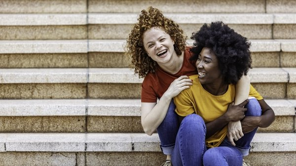 """On the other hand, lesbian, gay and bisexual youth were equally likely as their heterosexual peers to feel that their friends support them"". Photo: Getty Images"
