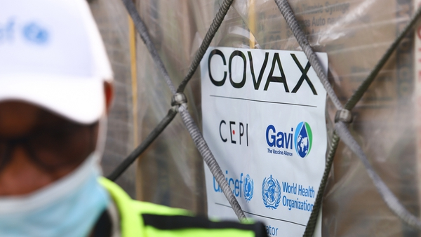 The first vaccines distributed through COVAX arrived in Ghana this week