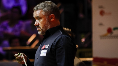 Stephen Hendry notched his 776th century but lost to Matthew Salt