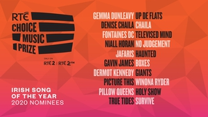 Voting is now open on the RTÉ 2FM website