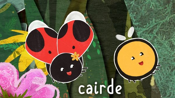 Cairde means friends.