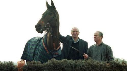 Tom Foley with Danoli at Cheltenham in 1996