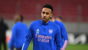 Pierre-Emerick Aubameyang has scored three goals in six Europa League appearances for the Gunners this season