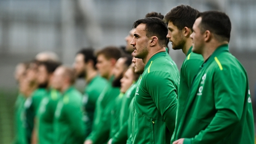 Ronan Kelleher will earn his ninth cap, and just his third start, against Italy