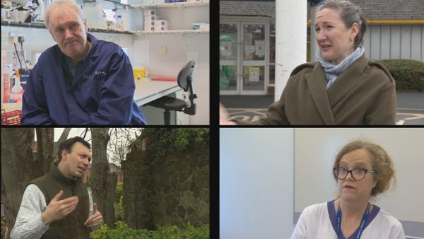 Irish people have turned to doctors and scientists for information about the virus
