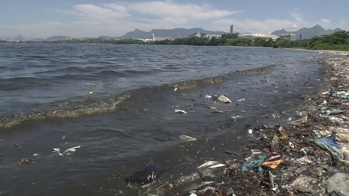 According to Oceana Brazil's report, the South American country throws some 325,000 tons of plastic into the sea