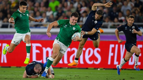 Ireland beat Scotland in their opening pool game of RWC2023