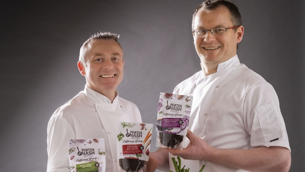 Chefs Gavin Cassidy and Eoin Lennon, co-founders of Porter & Nash