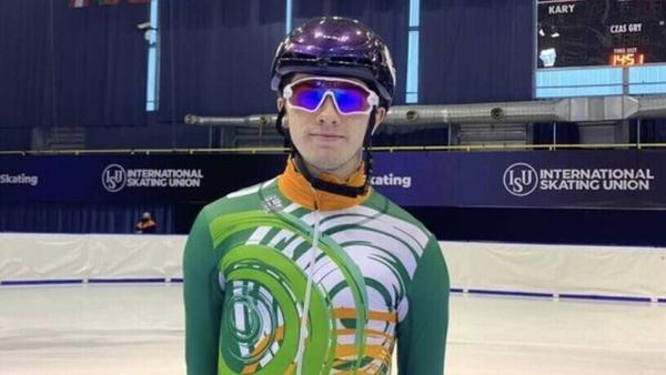 Liam O'Brien represented Ireland at last month's European Championships