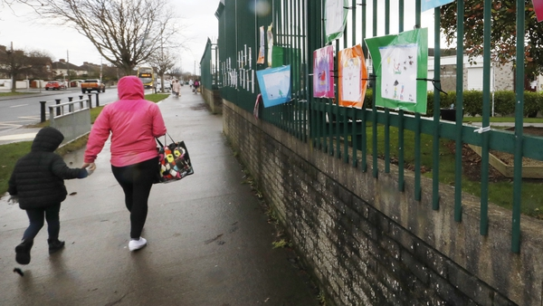 Some primary school children will return to the classrooms on Monday