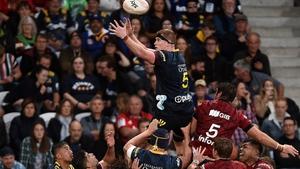 Jack Regan impressed on his Super Rugby debut
