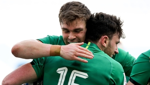 Ireland ran in six tries