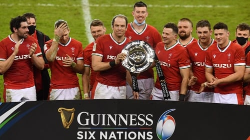 Wales are the champions for the second time in three years