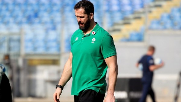 Victory in Rome was a first away win for Andy Farrell in the championship