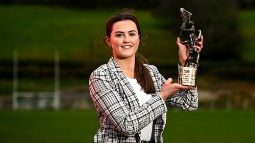 Aimee Mackin is the TG4 Senior Players' Player of the Year for 2020