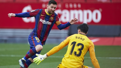 One for Lionel Messi as Barcelona beat Sevilla
