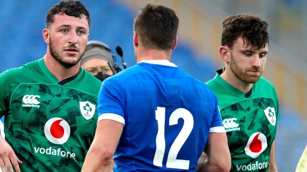 Will Connors (l) and Hugo Keenan are integrating into Andy Farrell's set-up