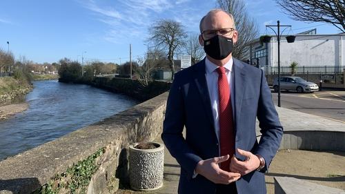 Simon Coveney said the protocol is part of an international treaty