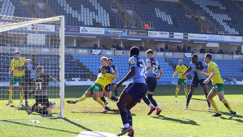 Adam Idah sealed Norwich City's 2-0 win over Wycombe with an 87th-minute goal