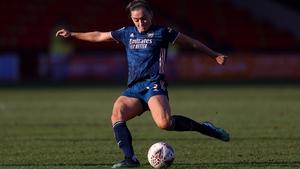 Katie McCabe scores Arsenal's third