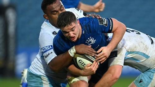 Scott Penny scored two tries for Leinster