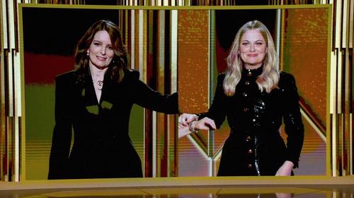 Golden Globe hosts Tina Fey and Amy Poehler