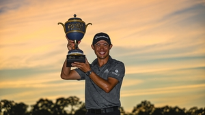 Collin Morikawa joins Tiger Woods in winning a major championship and WGC event before turning 25