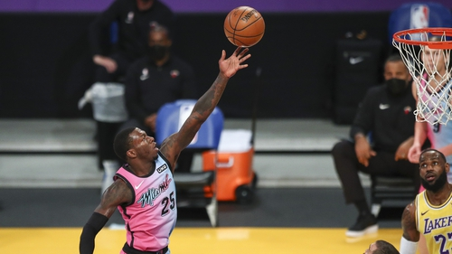 Kendrick Nunn was a key figure for Miami Heat in his team's win over Atlanta Hawks