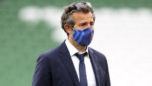 France head coach Fabien Galthie has tested positive for Covid-19