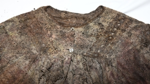 The woman's remains were found in a white nightdress or nightgown