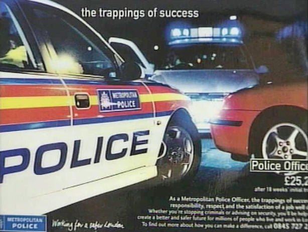 Metropolitan Police Advertising Vacancies in Ireland (2001)