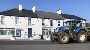 The Bank of Ireland branch in Kilcullen, Co Kildare is among those due to close (Pic: RollingNews.ie)