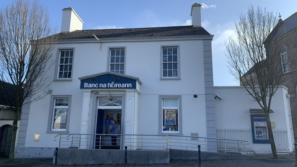The Bank of Ireland in Athboy is located in the old RIC Barracks
