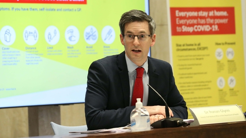 The Department of Health briefing heard that the overall test positivity rate of the virus seems to be down (Pics: RollingNews.ie)