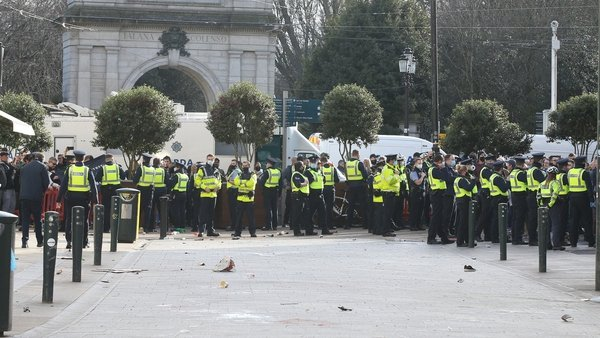 The protest took place in Dublin city on Saturday (Pic: RollingNews.ie)