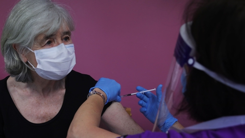 By Saturday, 49,809 people aged 85 years and older had received their first vaccine dose