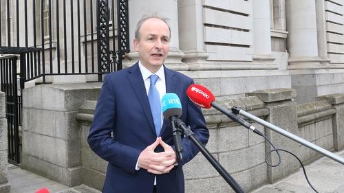 Micheál Martin said the Government will do all it can