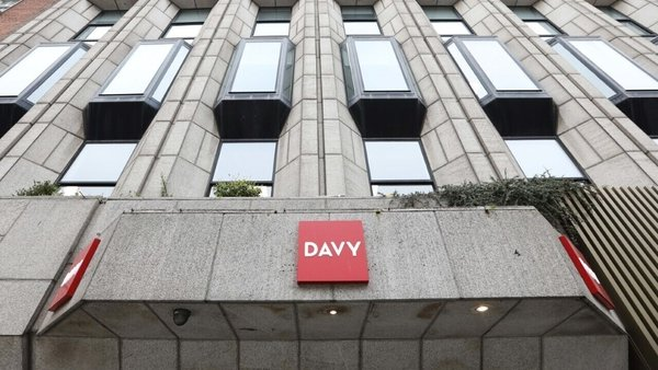 A €4.13m fine was imposed on brokers Davy earlier this year (Pic: RollingNews.ie)