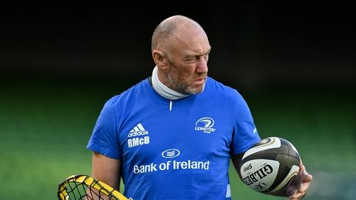 Leinster scrum coach Robin McBryde