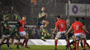 Munster beat Connacht 16-10 in the Sportsground in January