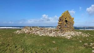 Staad Abbey is near Streedagh in Co Sligo