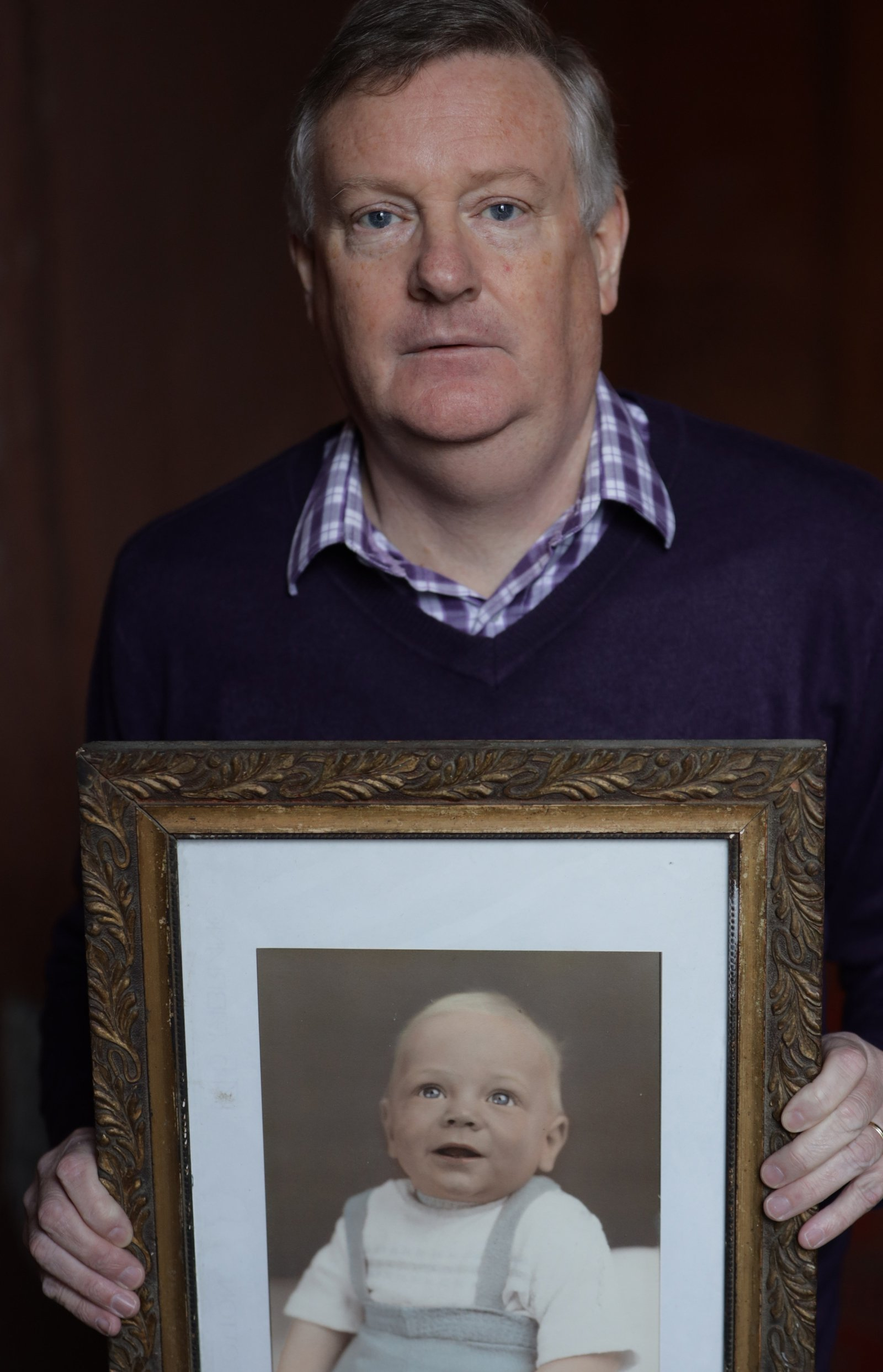 Image - Brian Webster spent nearly 60 years believing he was the natural son of Mary and Tom Webster from New York City